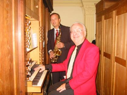 Avec Joseph Coppey à l'orgue