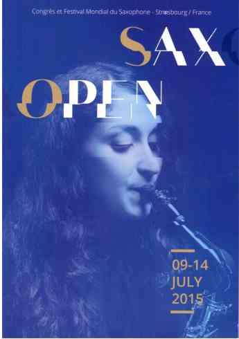 Strasbourg Congrès Mondial Saxophone2015