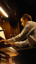 Thibaut Duret à l'orgue